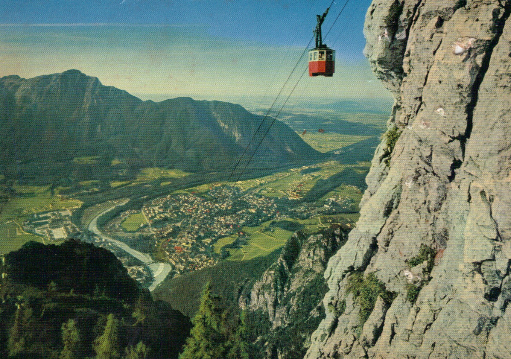 Cable Car near top
