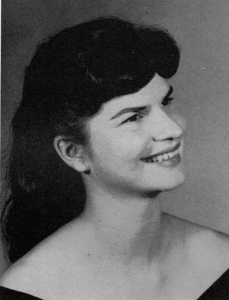 Joan, Sophmore, 1961