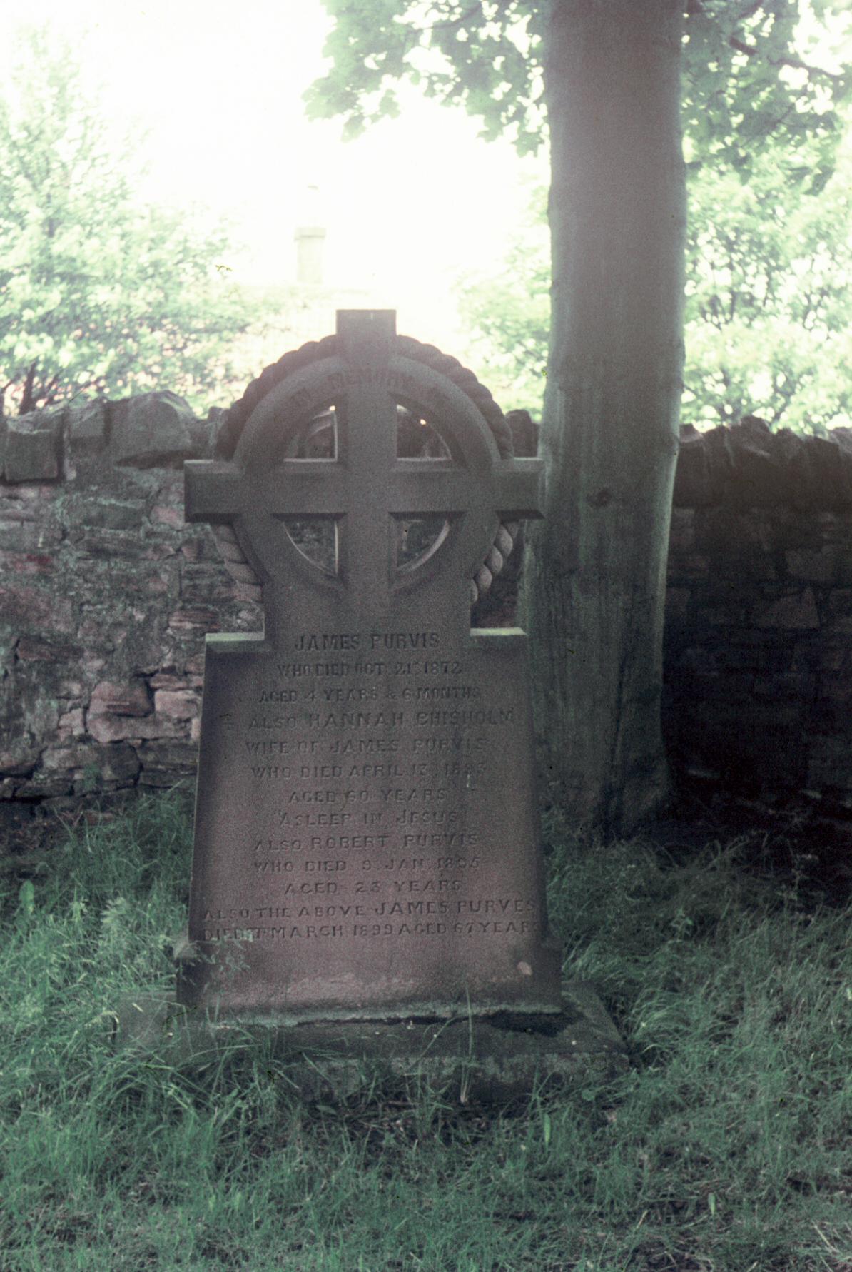 Purvis Gravemarker