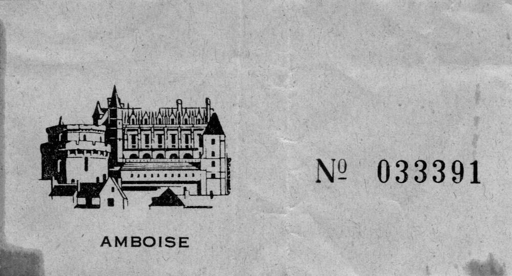 Honeymoon - Amboise, June 1966