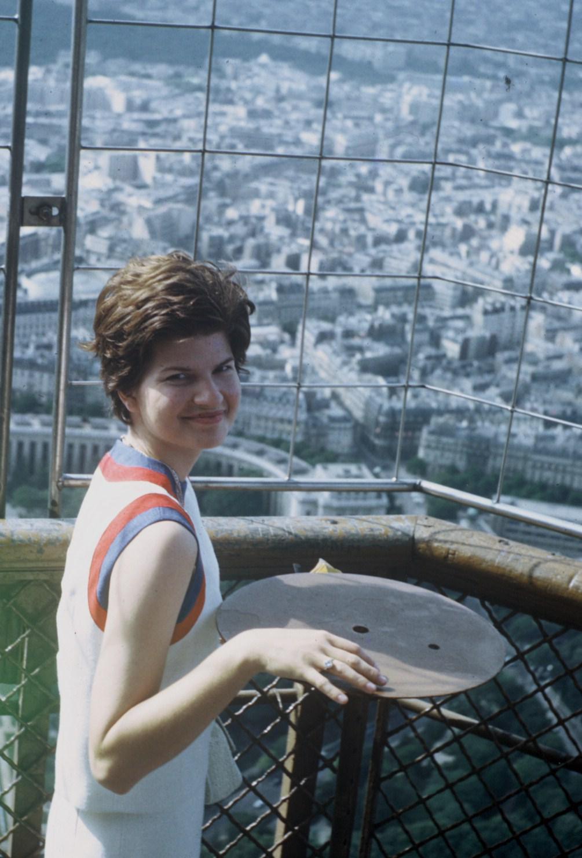 Joan on Eiffel Tower 2