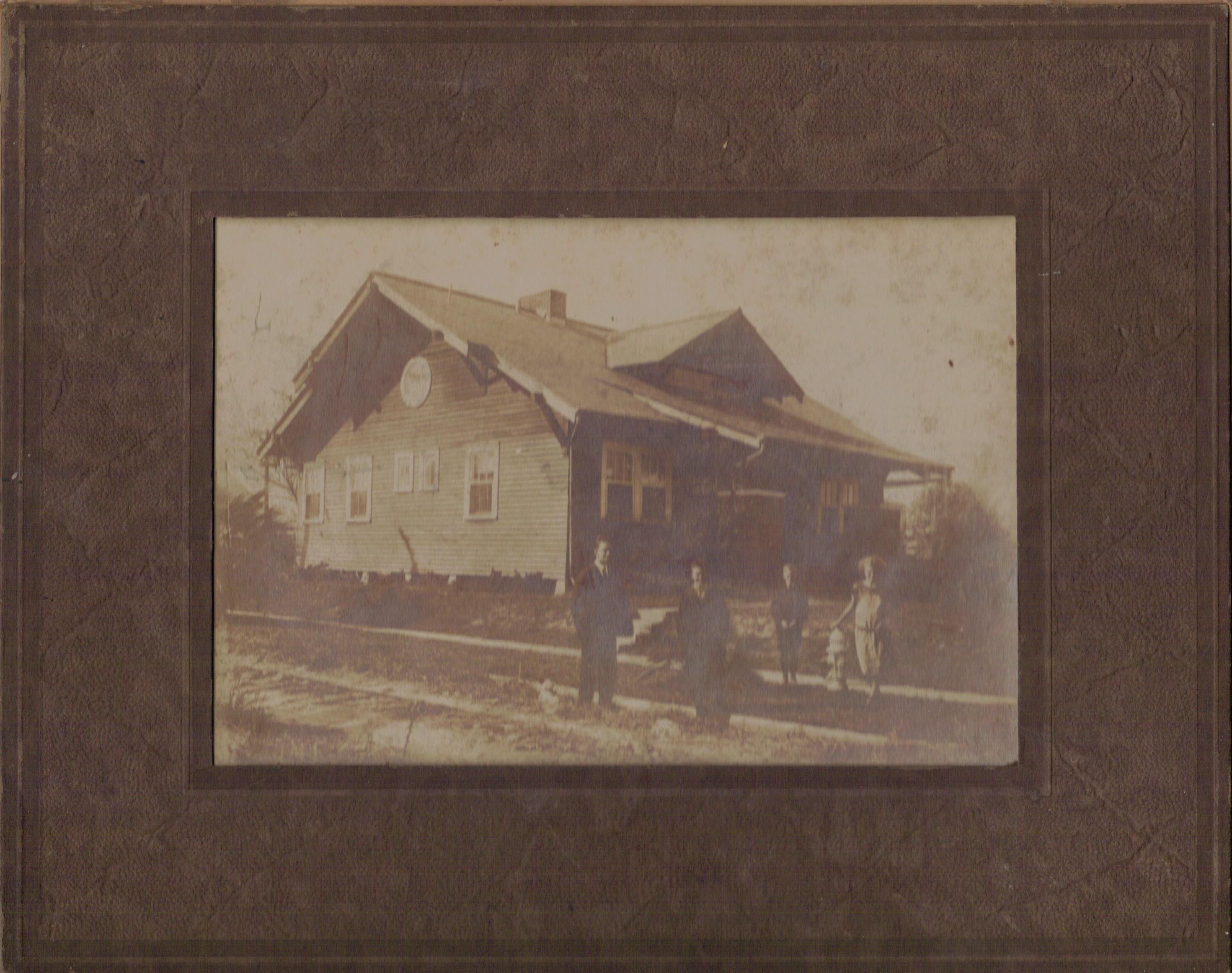Joan's Grandparent's house taken Nov. 23, 1921