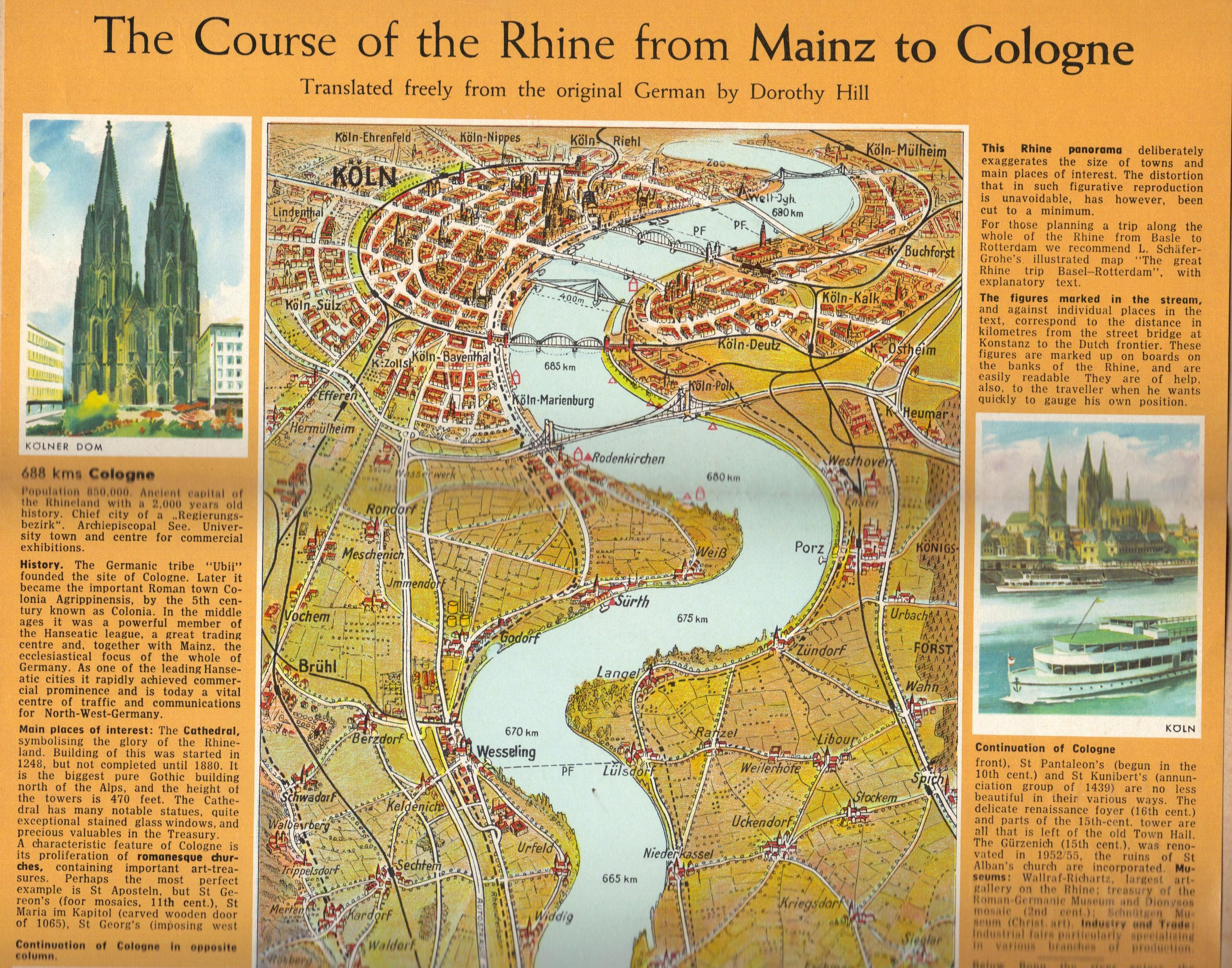 Rhine map 1
