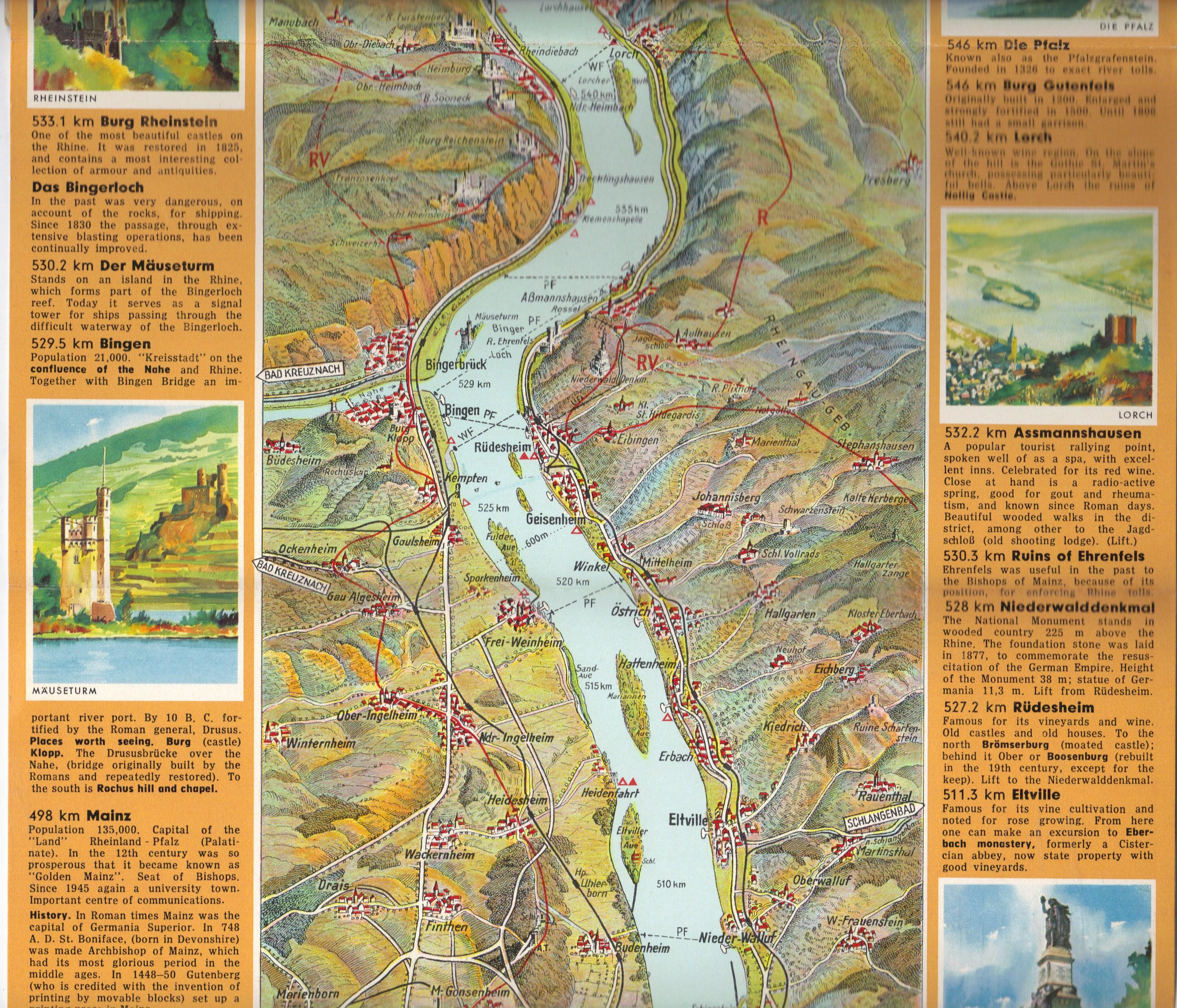 Rhine map 6