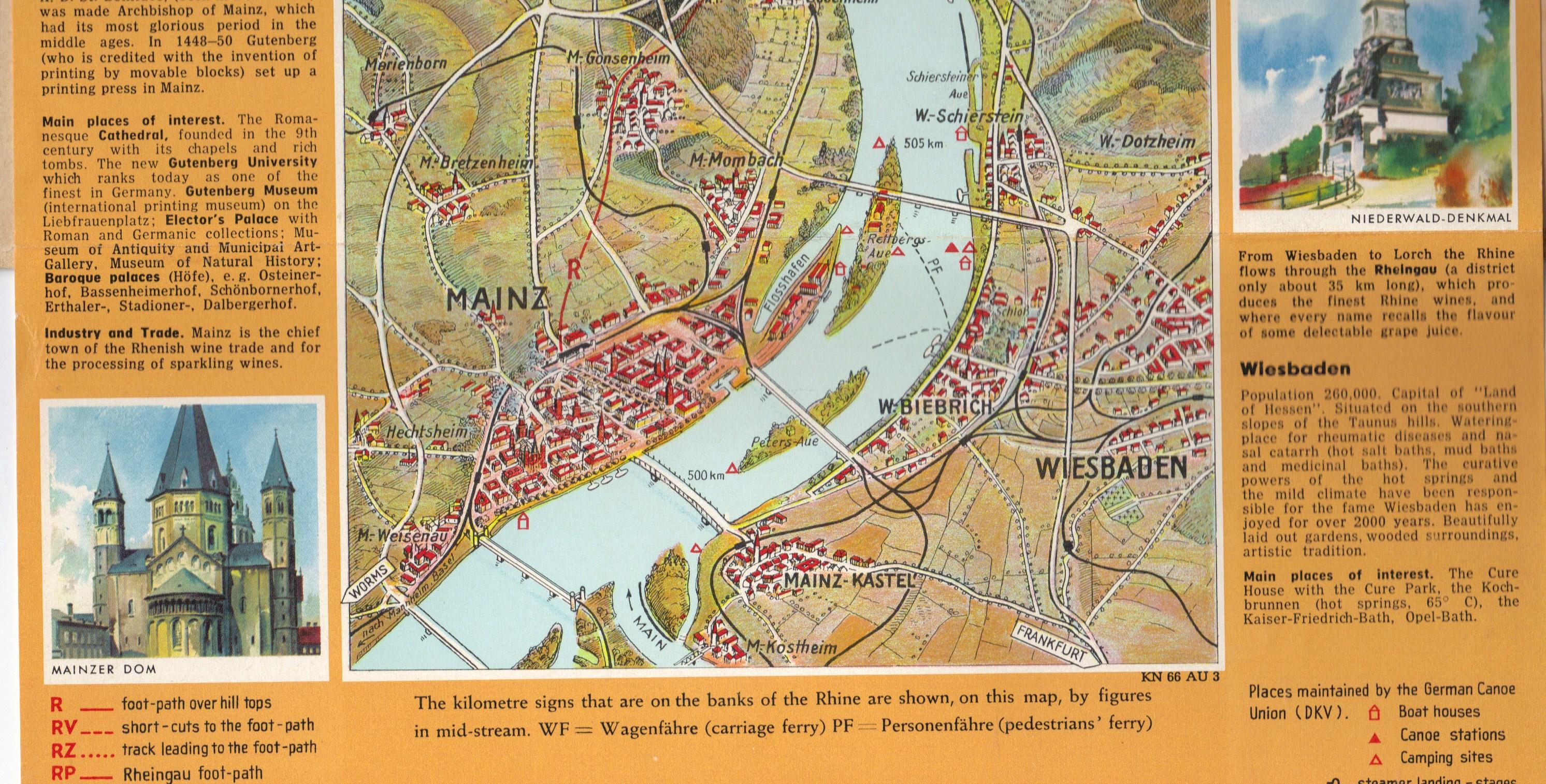 Rhine map 7